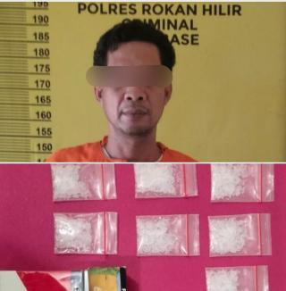 Bekuk Pengedar, Polisi Sita 10 Paket Sabu