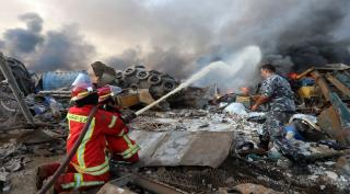 Beirut Luluh Lantak Dihantam Bom, 4.000 Orang Luka-Luka, 73 Tewas