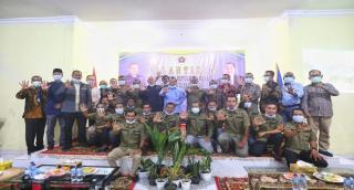 Lantik Ketua PWI Meranti, Zulmansyah Berpesan Agar Terus Edukasi Anggota