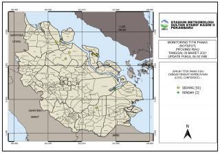 58 Hotspot Muncul di Riau, Terbanyak di Sumatera