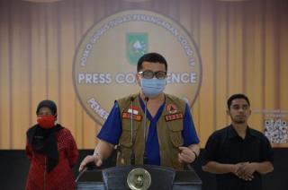 Satgas Covid-19 RiauMinta Pemkab Capai Target Vaksinansi