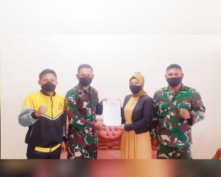 Pengurus Shindoka Pekanbaru Silaturahmi dengan Dewan Pembina Kolonel Inf Edi Budiman