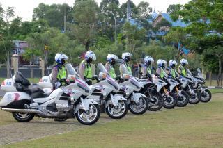Hari Pertama Operasi Patuh, Satlantas Edukasi Tertib Lalu Lintas di Ruas Jalan Utama