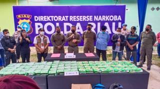 Simpan 81 Kg Sabu di Kos, Dua Warga Aceh Ditangkap