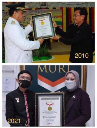 Suami Istri Pecahkan Rekor MURI Bupati Termuda se Indonesia