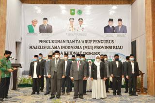 Pengurus MUI Riau BaruDiminta Kuatkan Syiar Islam