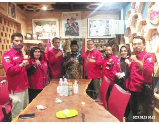 Pemuda Batak Bersatu Silaturahmi dengan PWNU Riau