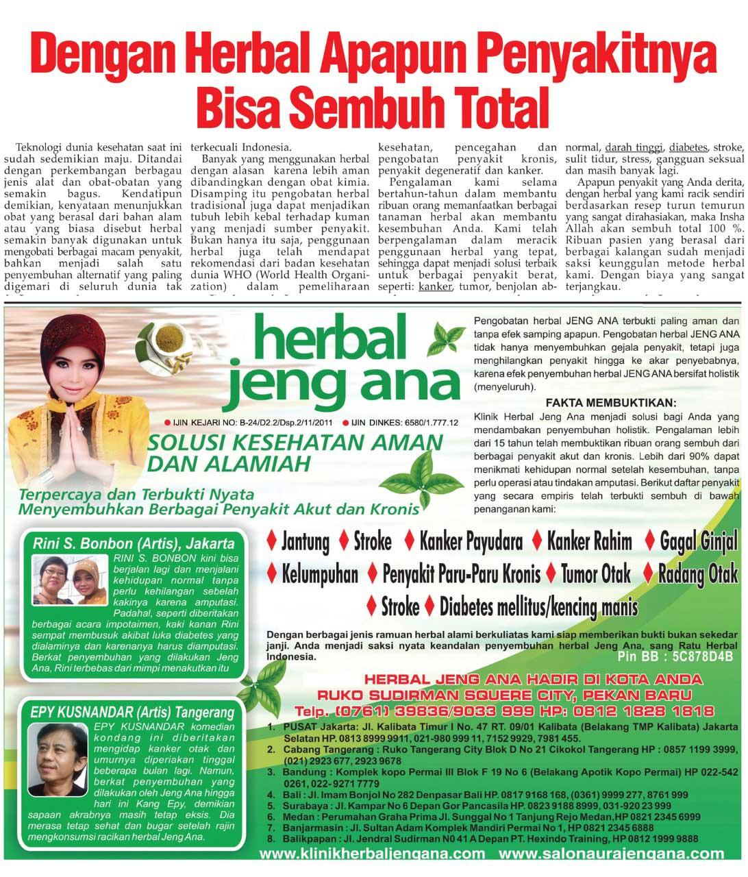 herbal - Jeng ana